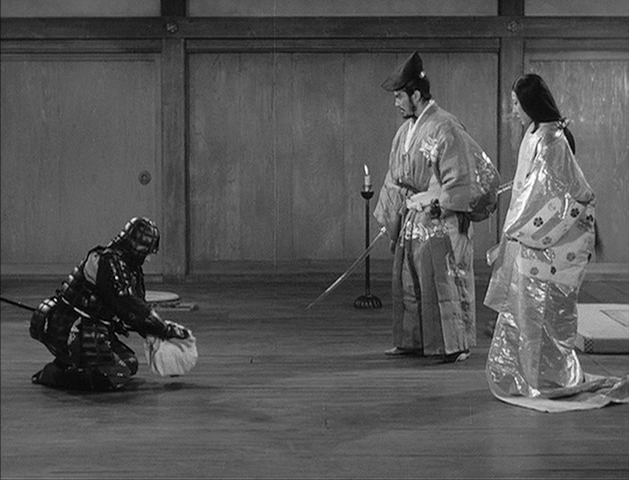 Kurosawa THRONE OF BLOOD caption image